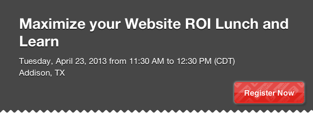 website roi